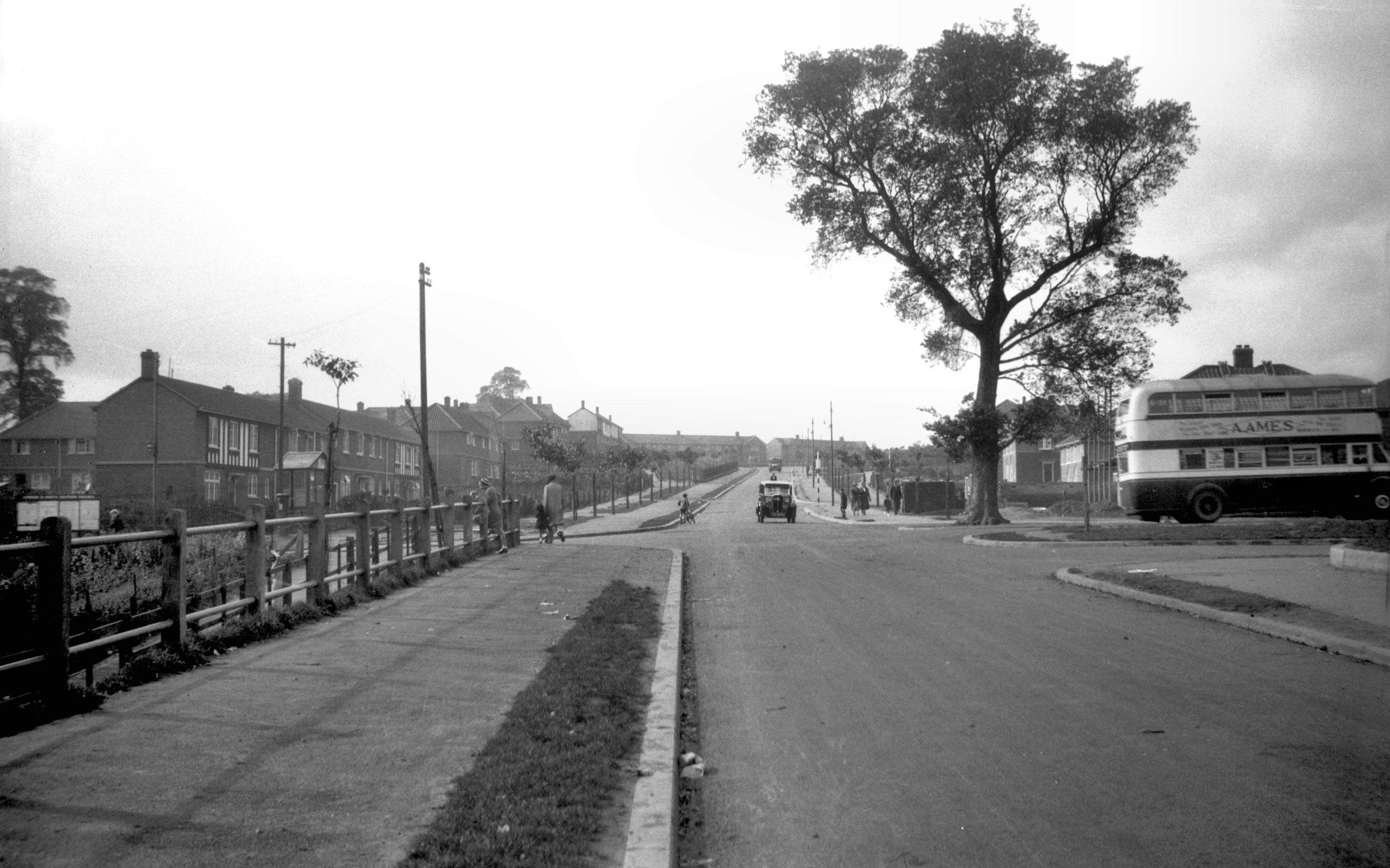 Barn Road to Belvoir Street
